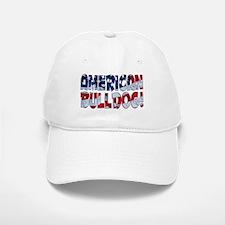 AMERICAN BULLDOG FLAG Baseball Baseball Cap