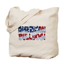 AMERICAN BULLDOG FLAG Tote Bag