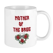 Mother of the Bride Skull Mugs