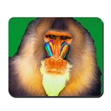 Psychedelic Mandrill Mousepad