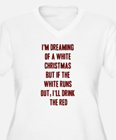 Red Wine Plus Size T-Shirt