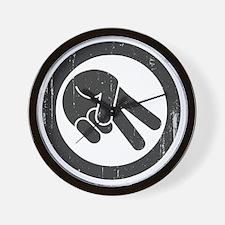 peace-biker-LTT Wall Clock