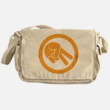 peace-biker-DKT Messenger Bag
