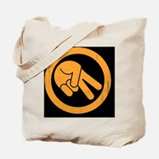 peace-biker-BUT Tote Bag