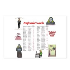 Proofreader's Marks Postcards (Package of 8)