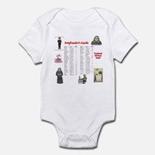 Proofreader's Marks Infant Bodysuit