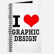 I Heart (Love) Graphic Design Journal