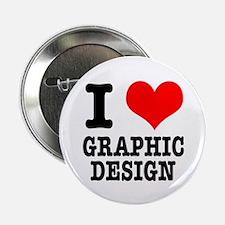 I Heart (Love) Graphic Design Button