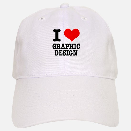 I Heart (Love) Graphic Design Hat