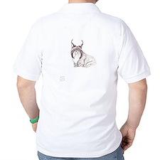 EelKat the black bobcat by Wendy C. Allen T-Shirt