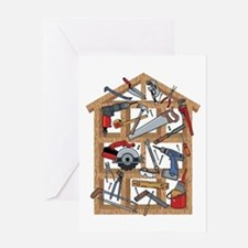 Home Construction Greeting Card