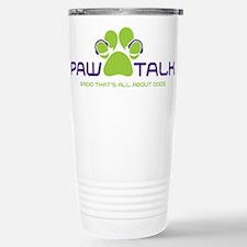Paw Talk Logo (transparent) Travel Mug