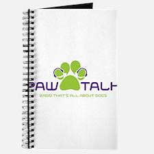 Paw Talk Logo (transparent) Journal