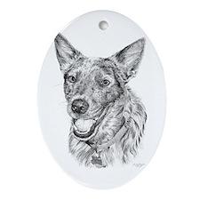 Finn Ornament (Oval)