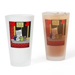 Scout Food for Santa Drinking Glass
