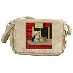 Scout Food for Santa Messenger Bag
