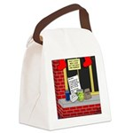 Scout Food for Santa Canvas Lunch Bag