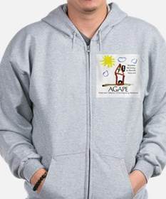 Agape For Families Collection Zip Hoodie