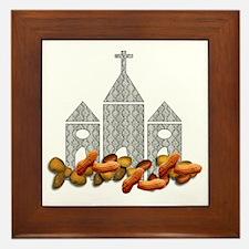 Religious Nuts Framed Tile