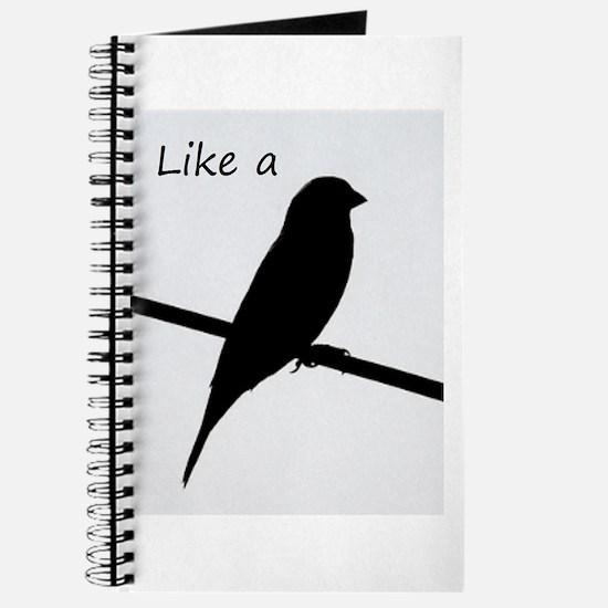 Like a Bird on a Wire Journal