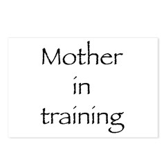 Mother in training Postcards (Package of 8)