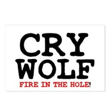 CRY WOLF - FIRE IN THE HO Postcards (Package of 8)