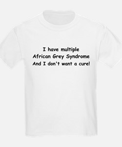 Multiple African Greys! T-Shirt