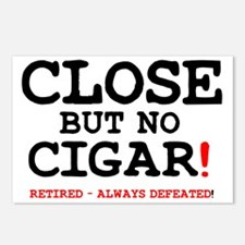 CLOSE BUT NO CIGAR - RETI Postcards (Package of 8)