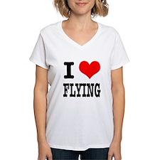 I Heart (Love) Flying Shirt