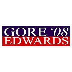 Gore-Edwards '08 bumper sticker