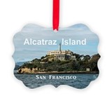 Alcatraz Picture Frame Ornaments