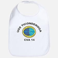 USS Ticonderoga CVA 14 Bib