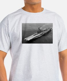 USS Ticonderoga Ship's Image T-Shirt