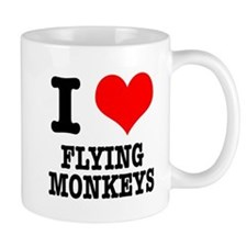 I Heart (Love) Flying Monkeys Mug