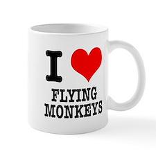 I Heart (Love) Flying Monkeys Mug