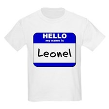 hello my name is leonel T-Shirt