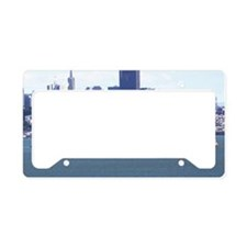 SanFrancisco_7.5x5.5_FlatCard License Plate Holder