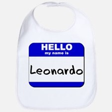 hello my name is leonardo  Bib