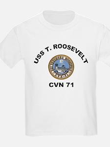 USS Theodore Roosevelt CVN 71 T-Shirt