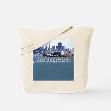 SanFrancisco_6x6_v2_AlcatrazIsland Tote Bag