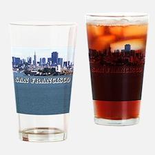 SanFrancisco_6x6_v2_AlcatrazIsland Drinking Glass