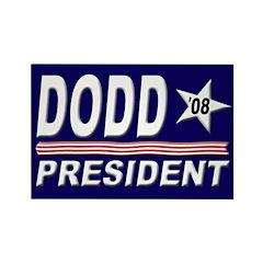 Dodd for President Rectangle Magnet