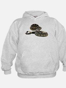 Rattlesnake Photo Hoodie