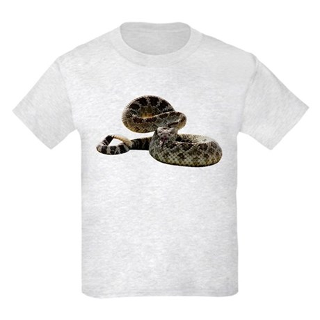 Rattlesnake Photo Kids Light T-Shirt