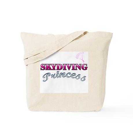 Skydiving Princess Tote Bag