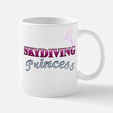 Skydiving Princess Mug