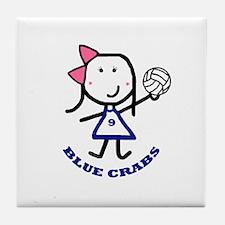Blue Crabs - 9 Tile Coaster