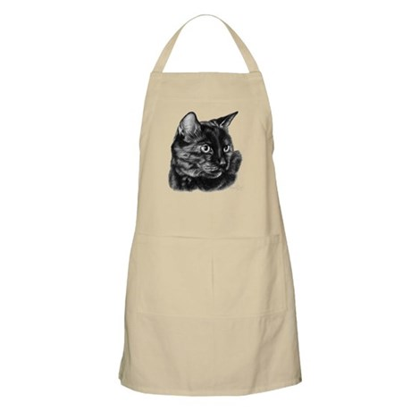Tortoise Short-Hair Cat BBQ Apron