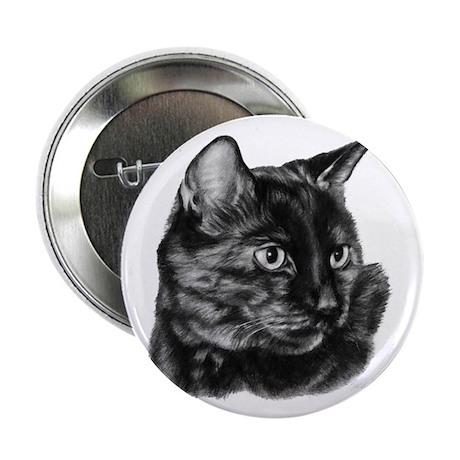 "Tortoise Short-Hair Cat 2.25"" Button (10 pack)"