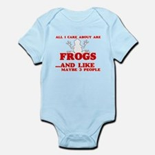 All I care about are Frogs Body Suit